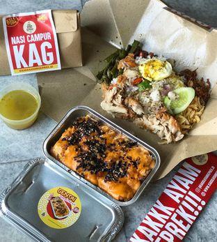 Foto review Kakkk Ayam Geprek oleh @belfoodiary  1