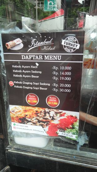 Istanbul Kebab Klender Lengkap Menu Terbaru Jam Buka No Telepon Alamat Dengan Peta
