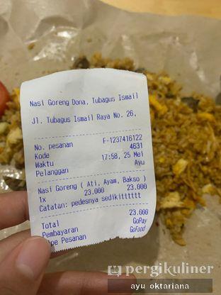 Foto review Nasi Goreng Dona oleh a bogus foodie  2