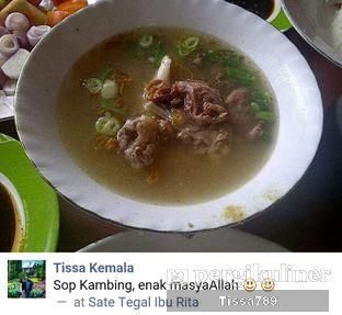 Foto 2 - Makanan di Pondok Sate Tegal Ibu Rita oleh Tissa Kemala