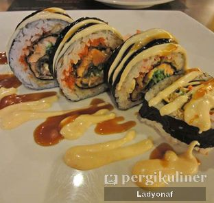 Foto 1 - Makanan di Sushi Joobu oleh Ladyonaf @placetogoandeat