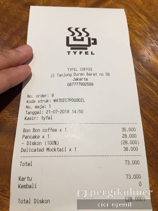 Foto review TYFEL COFFEE oleh Sherlly Anatasia @cici_ngemil 7