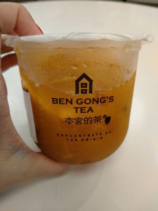 Foto review Ben Gong's Tea oleh @Itsjusterr  1