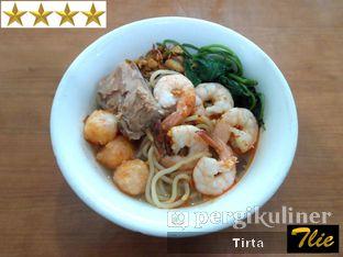 Foto 1 - Makanan di Mie Udang Singapore Mimi oleh Tirta Lie