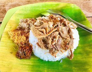 Foto 1 - Makanan di Nasi Krawu Buk Tiban oleh denise elysia