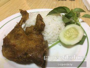 Foto 1 - Makanan(begor paha) di Palupi Bebek Goreng oleh @supeririy