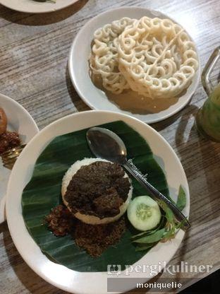 Foto 2 - Makanan(Nasi Empal Nyonya) di Angkringan Kapok Lombok oleh Monique @mooniquelie @foodinsnap