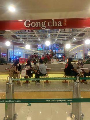 Foto review Gong cha oleh inri cross 5