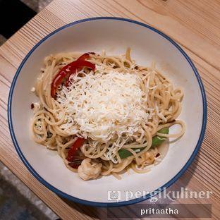 Foto 1 - Makanan(spaghetti aglio olio) di Babeh St oleh Prita Hayuning Dias
