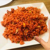 Foto nasi goreng merah di RM Irtim Makassar