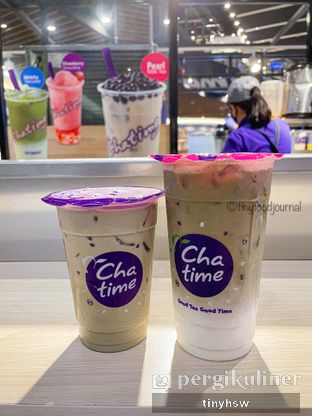 Foto review Chatime oleh Tiny HSW. IG : @tinyfoodjournal 2