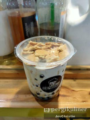 Foto 2 - Makanan(Brown Sugar Boba Regal Fresh Milk) di Hei! Cheese oleh JC Wen