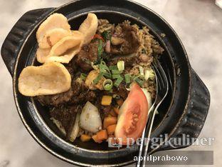 Foto 1 - Makanan(Nasi Goreng Sapi Lada Hitam) di QQ Kopitiam oleh Cubi