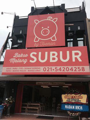 Foto 3 - Eksterior(Dari Luar) di Bakso Malang Subur by Toeman oleh Buncit Foodies