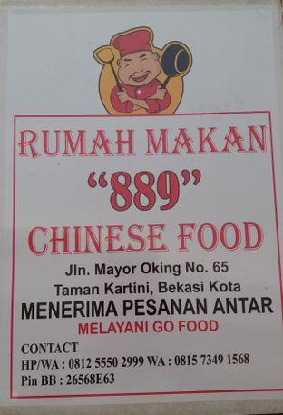 Foto 3 - Menu di Rumah Makan 889 Chinese Food oleh Jenny (@cici.adek.kuliner)