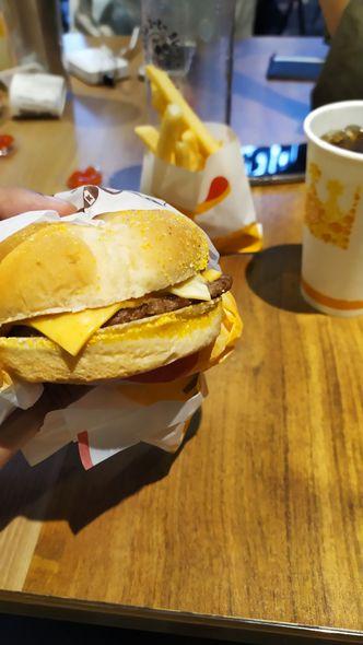 Foto Makanan di Burger King
