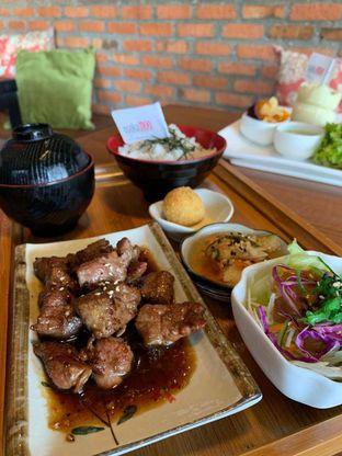 Foto - Makanan(Minutes Beef Lunch Set) di Osaka MOO oleh Pengembara Rasa