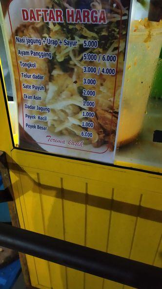 Foto Menu di Nasi Jagung Mas Ang