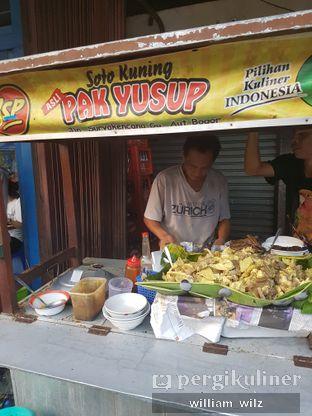 Foto review Soto Kuning Bogor Pak Yusup oleh William Wilz 3