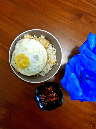 Foto 7 - Makanan(Salted Egg Chicken with Garlic Butter Rice) di Ayam Gallo oleh Clara Yunita