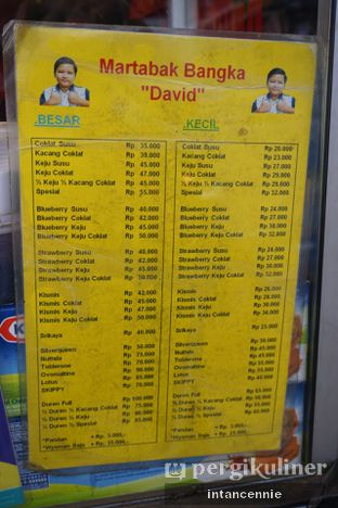 Foto 11 - Menu di Martabak Bangka David oleh bataLKurus