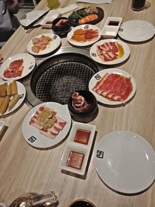Foto 5 - Makanan(Aneka bbq) di Gyu Kaku oleh Elena Kartika