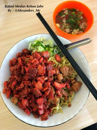 Foto 1 - Makanan di Bakmi Medan Kebon Jahe oleh Alexander Michael