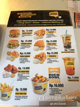 Foto 1 - Menu di Cheese Chicken oleh Pratista Vinaya S