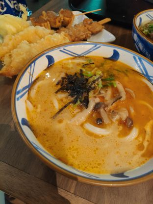 Foto 2 - Makanan(Spicy tori baitan udon) di Marugame Udon oleh Gabriel Yudha   IG:gabrielyudha