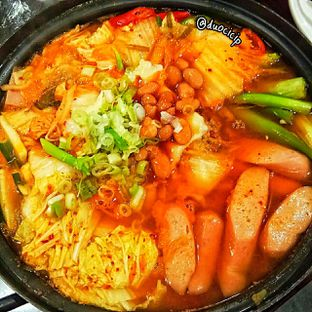 Foto 1 - Makanan(Budae Jigae) di Miso Korean Restaurant oleh felita [@duocicip]