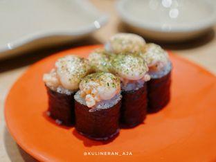 Foto 2 - Makanan(salmon mentai canape) di Sushi Tei oleh @kulineran_aja