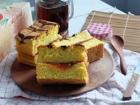 Foto Sponji Traditional Spongecake
