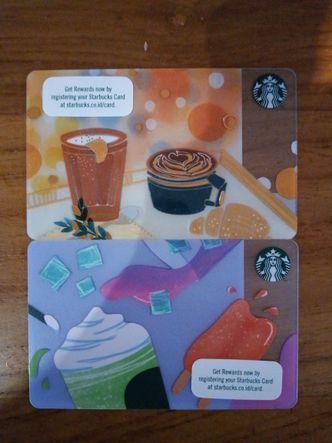 Foto Menu di Starbucks Coffee