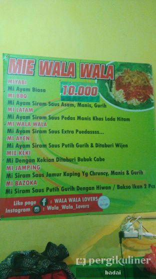 Foto 2 - Menu di Mie Wala Wala oleh Winata Arafad