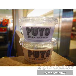 Foto - Makanan(Puyo Chocolate, Puyo Taro) di Puyo Silky Desserts oleh Yummy Eats