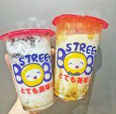 Foto Okoyama Cookies & Shibuya Fresh Milk di Street Boba