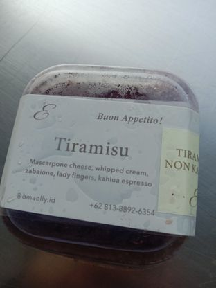 Foto - Makanan(Tiramisu mini) di Oma Elly oleh riska fauziah