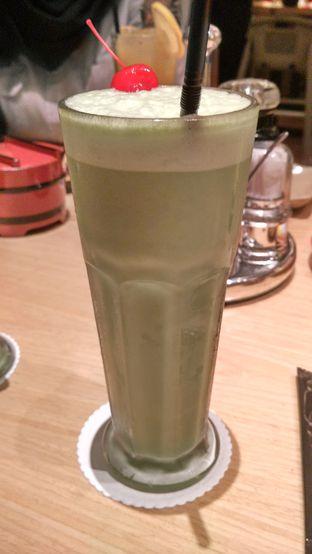 Foto 5 - Makanan(Matcha latte) di Sushi Tei oleh Shabira Alfath