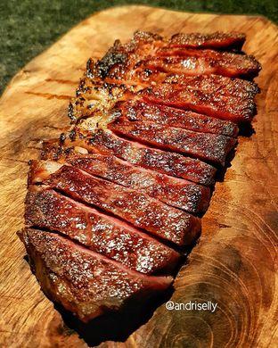 Foto 1 - Makanan(Rib eye) di AB Steakhouse by Chef Akira Back oleh ig: @andriselly