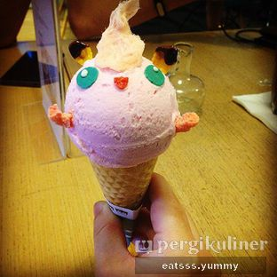Foto - Makanan(Jigglypuff Ice Cream) di North Pole Cafe oleh Yummy Eats