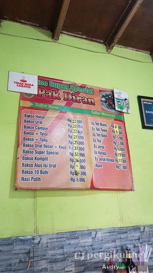 Foto 2 - Menu di Bakso Pak Diran oleh Audry Arifin @thehungrydentist