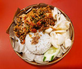 Foto - Makanan(Ayam geprek oseng tempe) di Gerobak Ayam Geprek oleh melisa_10