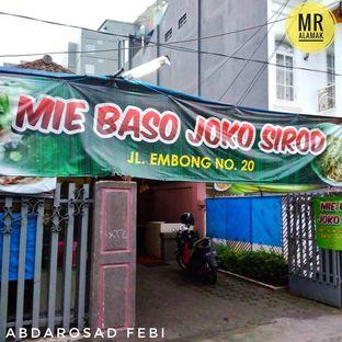 Foto 2 - Eksterior di Mie Baso Joko Sirod oleh Febiabdarosad