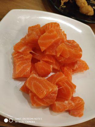 Foto 2 - Makanan(Salmon sashimi) di Sushi Joobu oleh Gabriel Yudha | IG:gabrielyudha