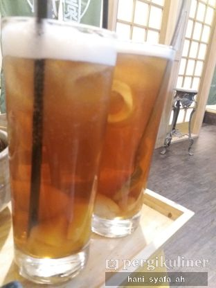 Foto 3 - Makanan(Iced Tea) di Kyoto Gion Cafe oleh Hani Syafa'ah