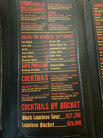 Foto Menu di Lawless Burgerbar