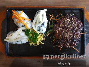 Foto 1 - Makanan(Bulgogi Steak) di MyoungDong Gyoza oleh efa yuliwati