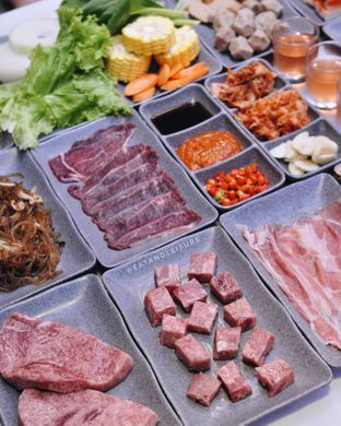 Foto 5 - Makanan di Saranghaeyo BBQ oleh Eat and Leisure