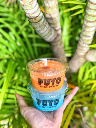 Foto 1 - Makanan di Puyo Silky Desserts oleh Vicky Angdi