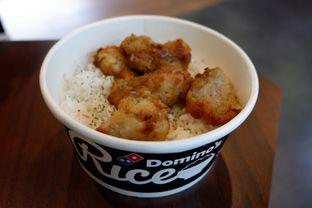 Foto - Makanan(Original Chicken Rice) di Domino's Pizza oleh Chrisilya Thoeng